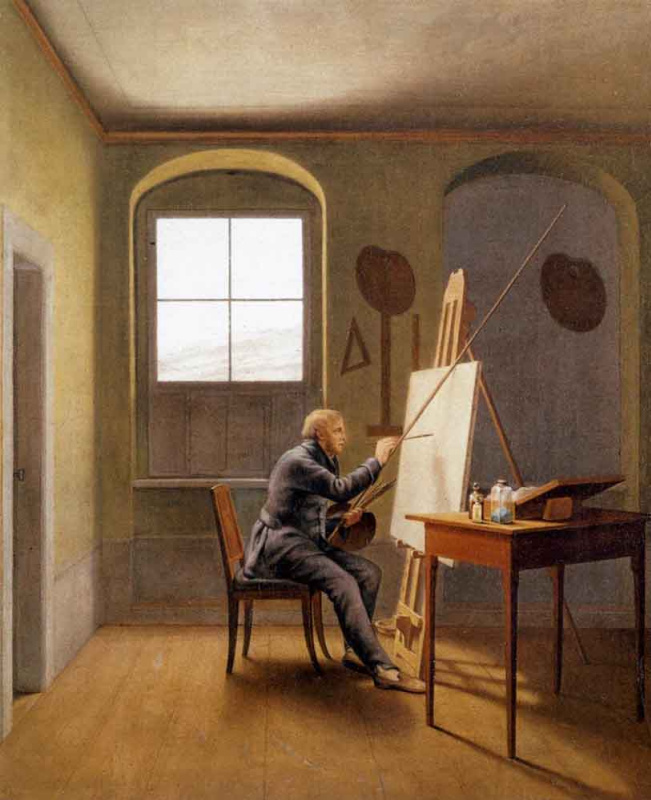 Georg Friedrich Kersting. Studio