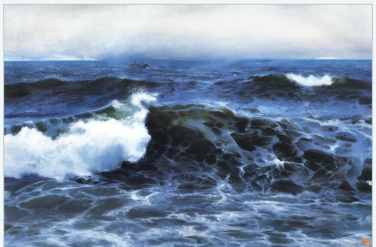 Ю. Пуджиес. Море в Брюме