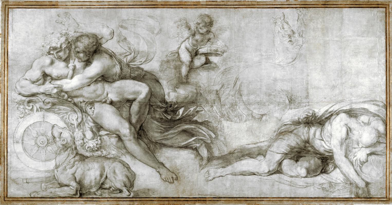 Агостино Карраччи. Цефал уносит Аврору в своей колеснице