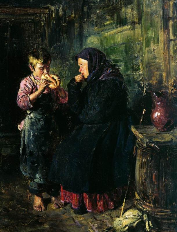 Владимир Егорович Маковский. Свидание