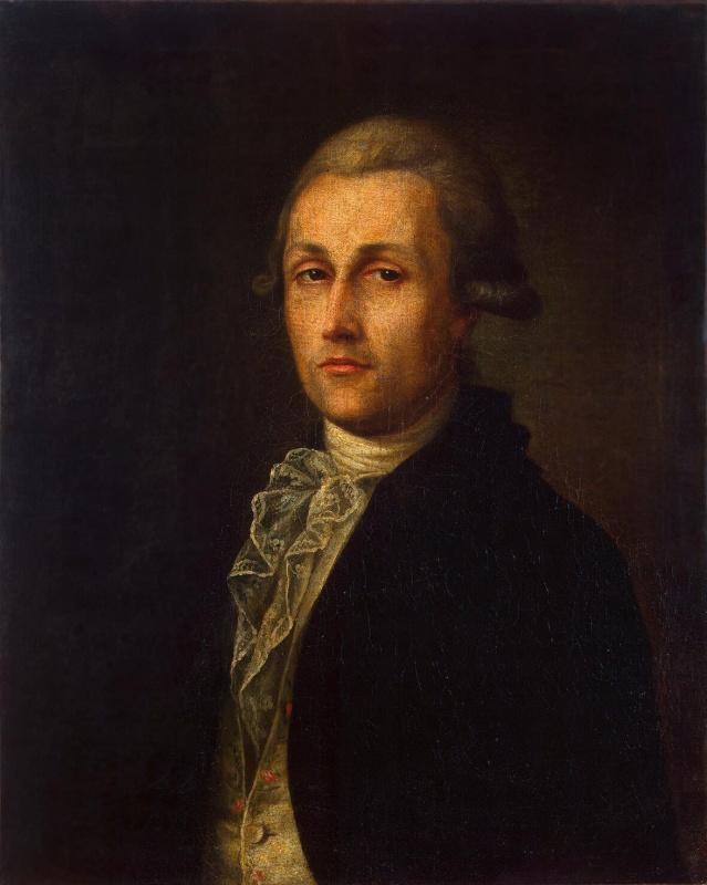 Ivan Andreev. Portrait Of Ivan Lukin Lukic