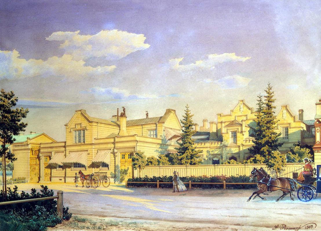 Луиджи Премацци. Городской пейзаж