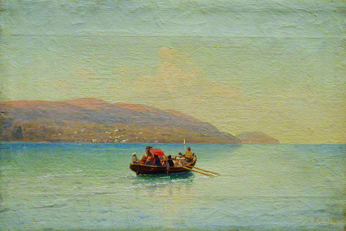 Lev Feliksovich Lagorio. Sea walk