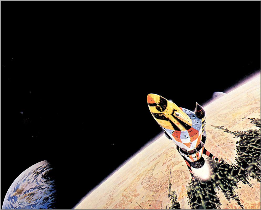 Колин Хей. Полет в космос