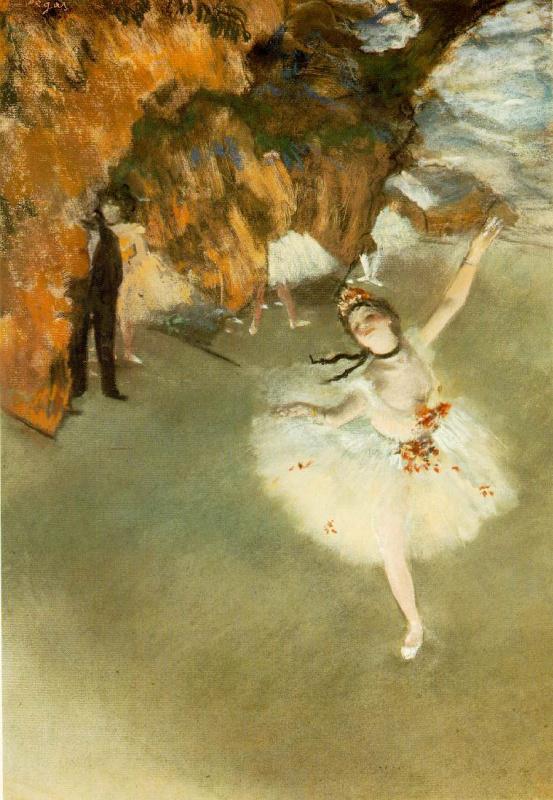 Эдгар Дега. Прима-балерина на сцене