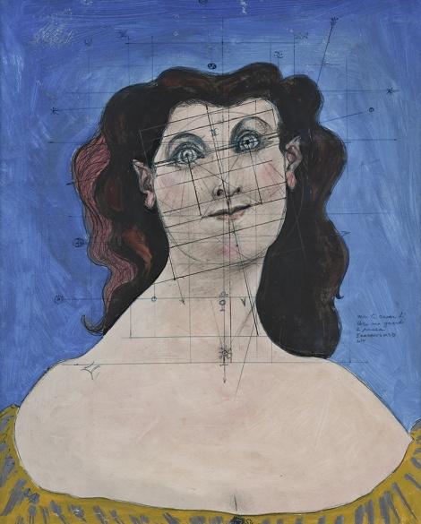 Голова женщины