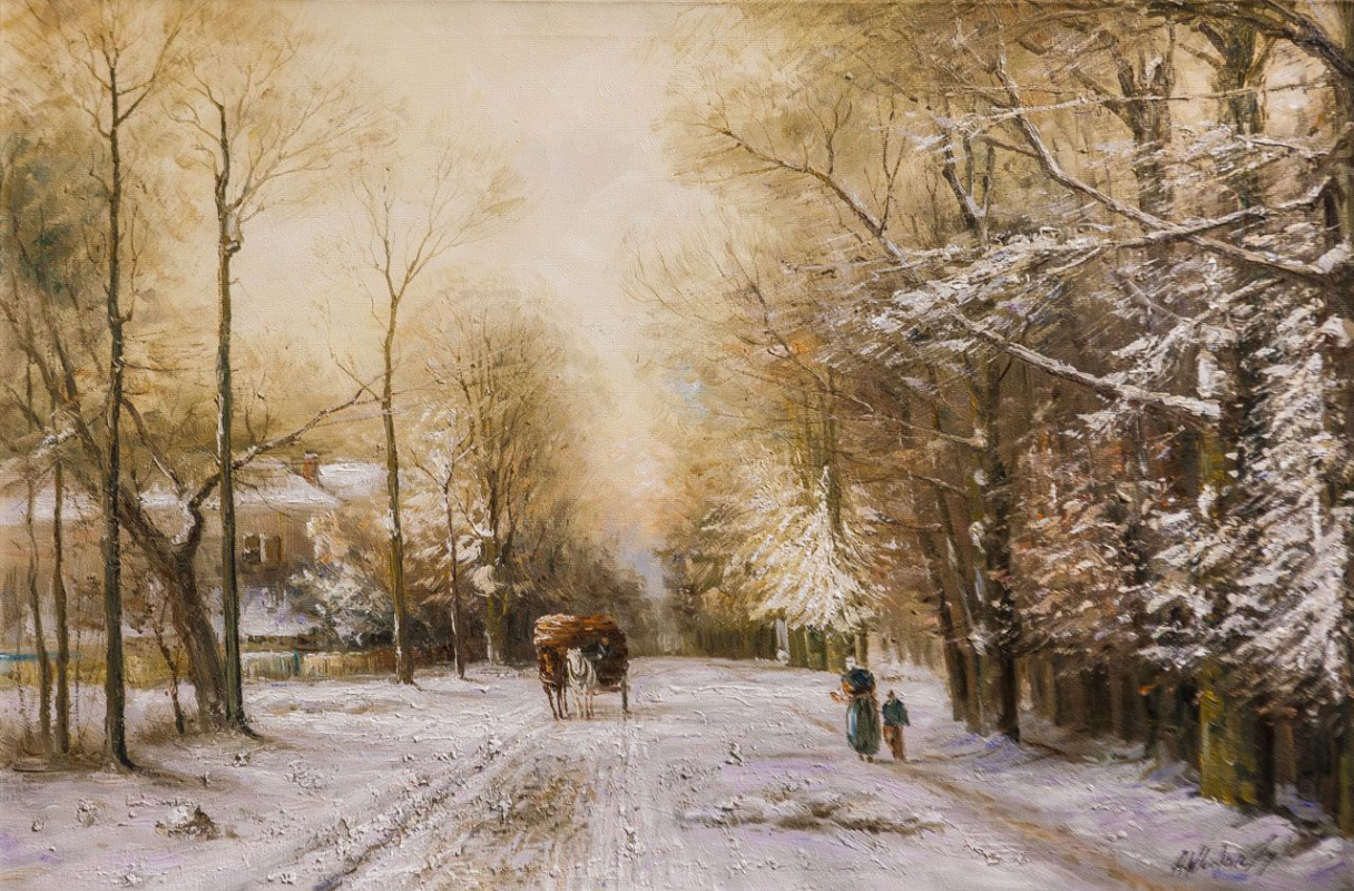 Andrzej Vlodarczyk. On the winter road N2