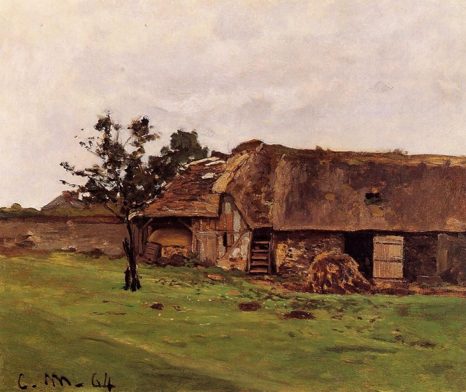 Claude Monet. Farm Saint-Simon near Honfleur