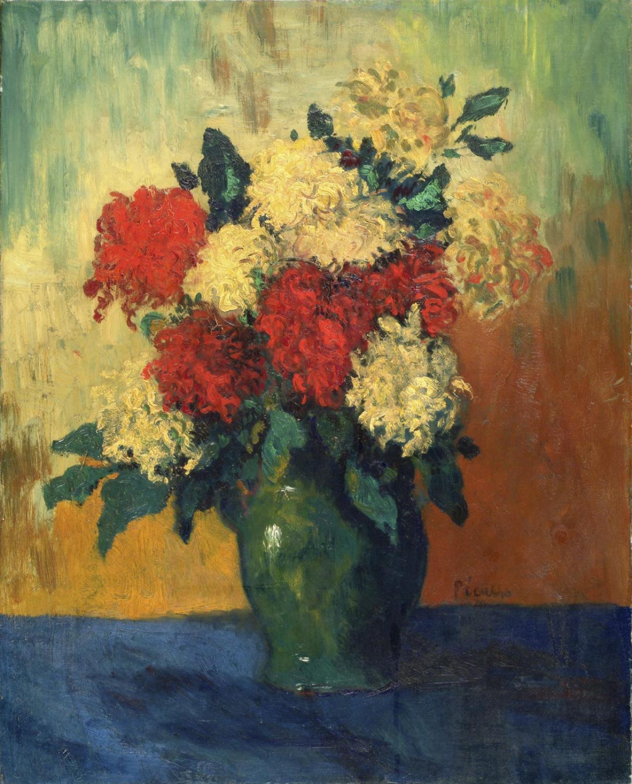 Pablo Picasso. Chrysanthemums