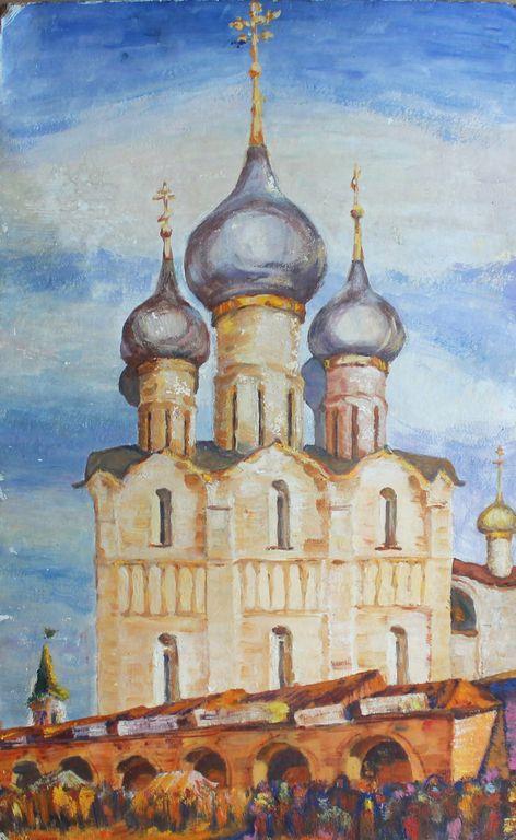 Vasily Nikitovich Zachinaev. Ростовский Кремль