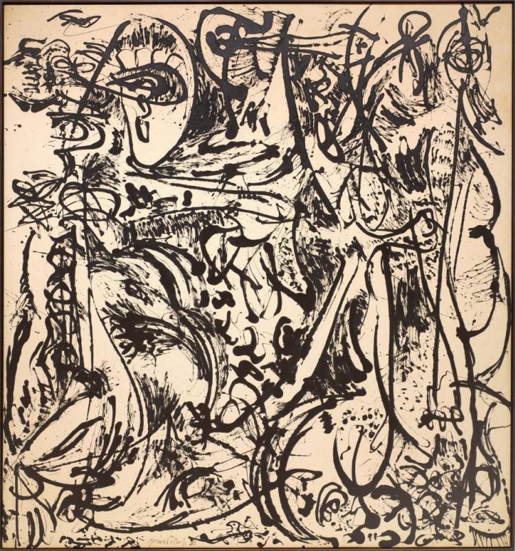 Джексон Поллок. Эхо номер 25, 1951