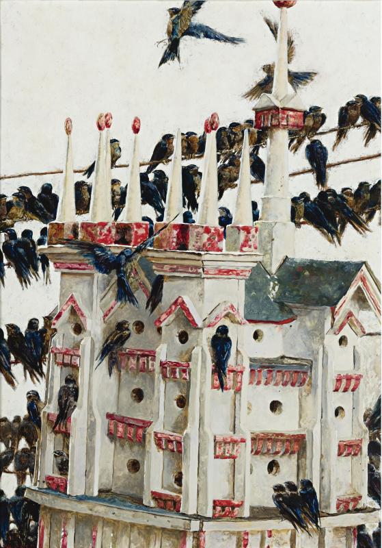 Jamie Wyeth. Bird house