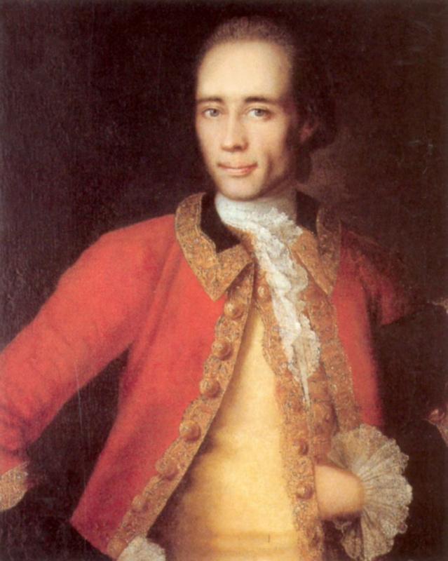 Ivan Yakovlevich Vishnyakov. Portrait Of M. S. Begichev