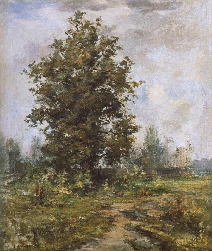 Sergey Fedorovich Shishko. The old oak tree.