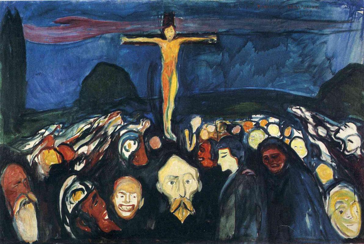 Edward Munch. Calvary