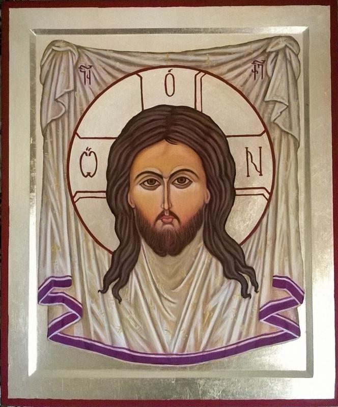 Badri Bukia. Icon The Miraculous Image of the Savior