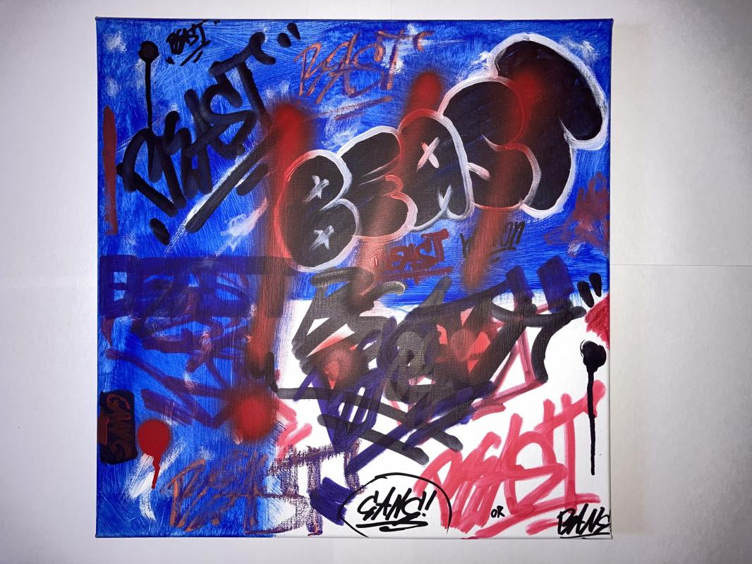 Денис Сергеевич Янкин. Graffiti bombing