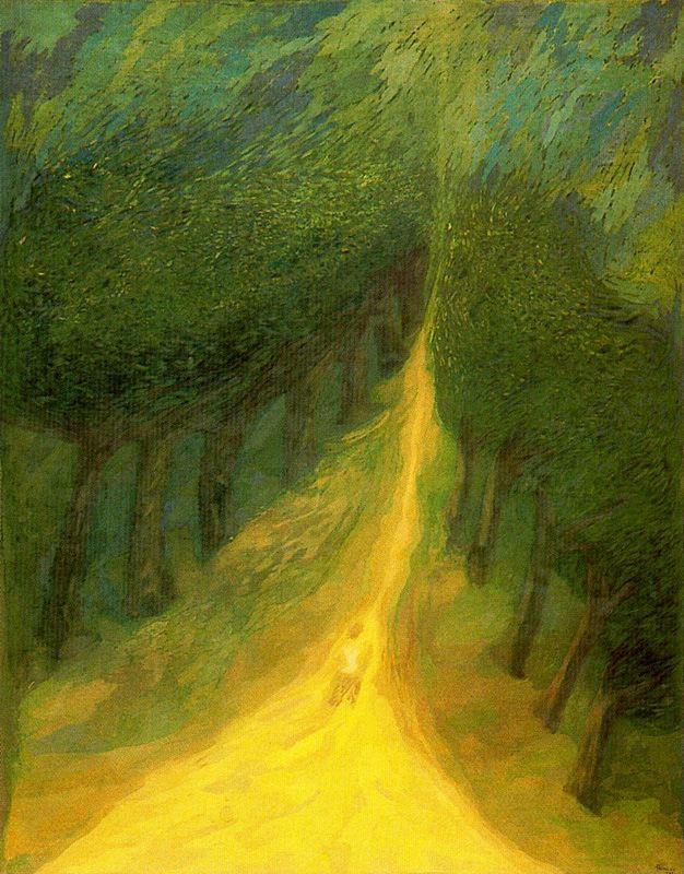 Франсиско Пеинадо. Дорога в лесу