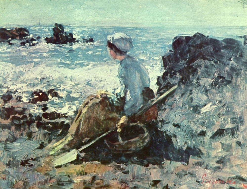 Николае Григореску. Гранвильская рыбачка