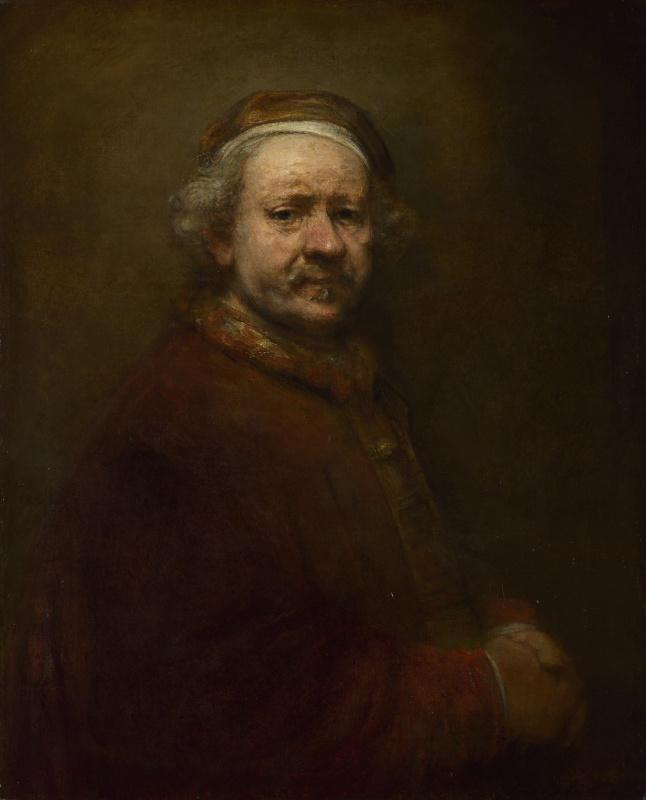 Рембрандт Харменс ван Рейн. Автопортрет в возрасте 63 лет