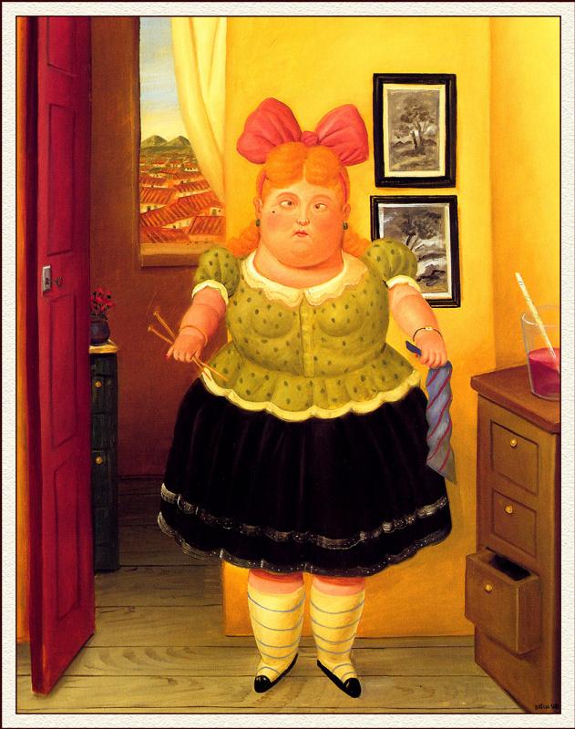 Fernando Botero. Couturier