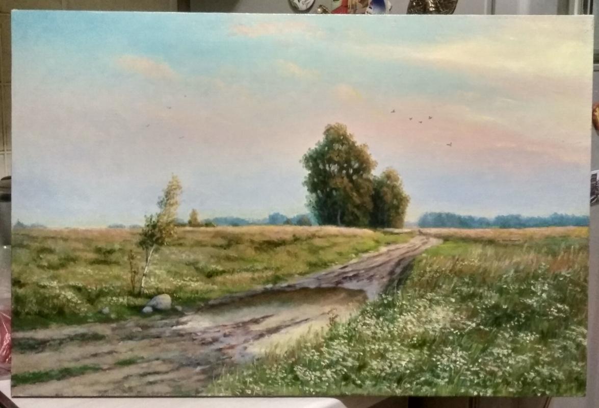 Dmitry Ivanovich Yurchenko. Road in the field