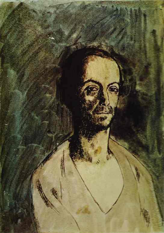 Пабло Пикассо. Каталонский скульптор Маноло (Мануэль Хуго)