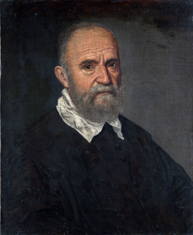 Leandro Bassano. Portrait of a bearded man