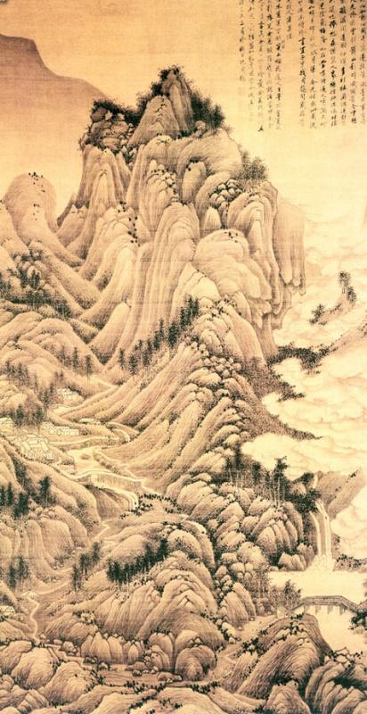 Лю Ю. Пейзаж 030