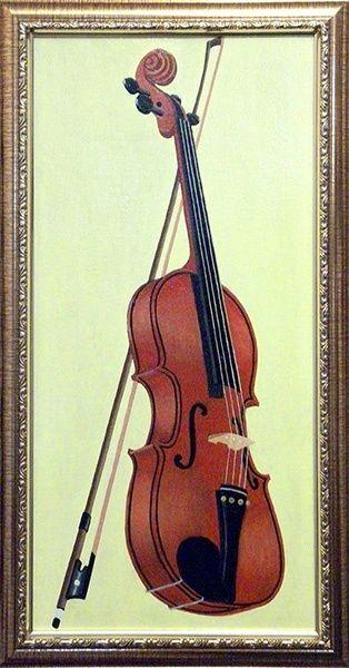 Victor Petrovich Burmin. Study with violin # 2.