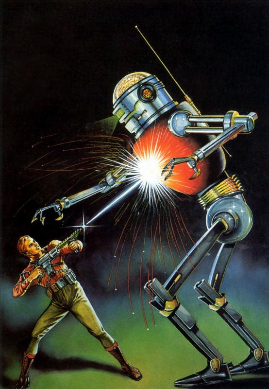 Роберт Фукуа. Безумный робот