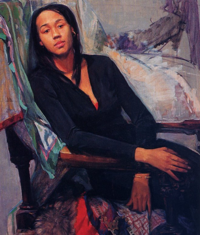 Сэм Адоки. Портрет Гиги