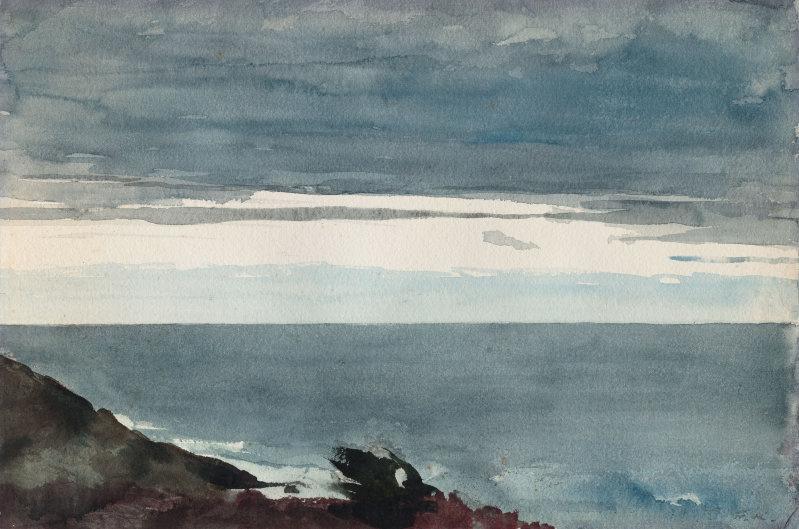 Winslow Homer. Evening. Peninsula Prouts Neck