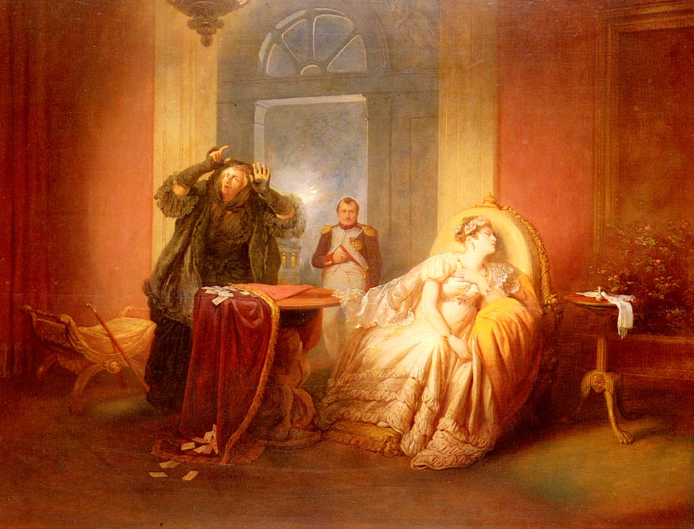 Йозеф Данхаусер. Наполеон и Жозефина
