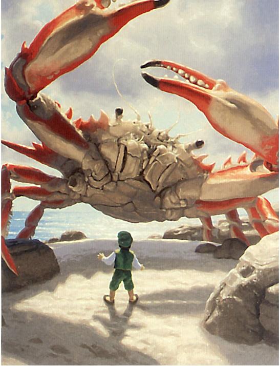 Greg Hildebrandt. Big crab