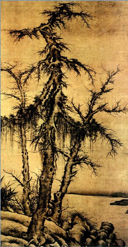 Ли Янь. Пейзаж  052