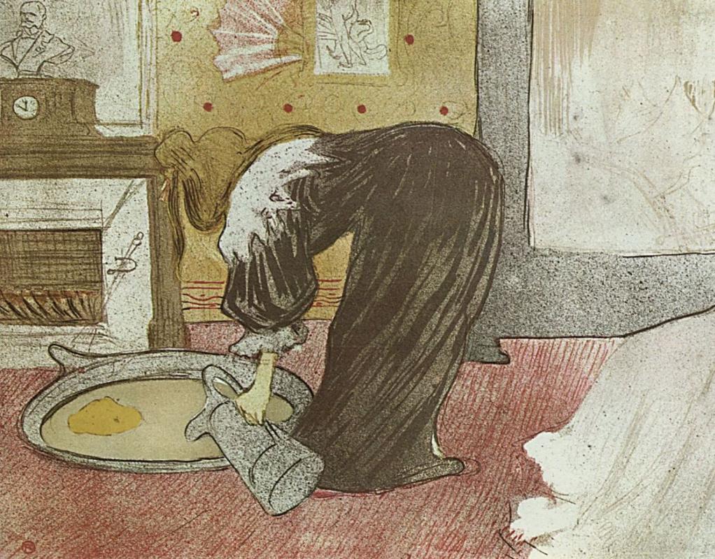 Анри де Тулуз-Лотрек. Женщина с кувшином