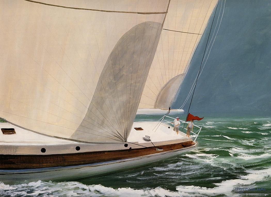Daniel Frey. The ocean