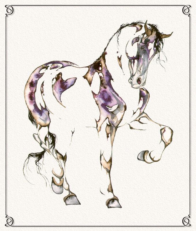 С. Л. Ричардс. Лошадь 4
