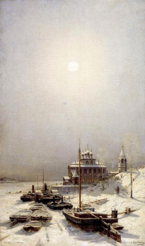 Алексей Петрович Боголюбов. Зима в Борисоглебске