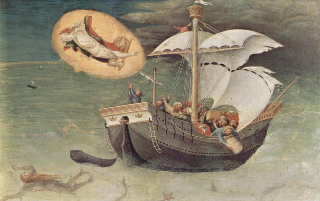 Gentile da Fabriano. Scene from the life of St. Nicholas