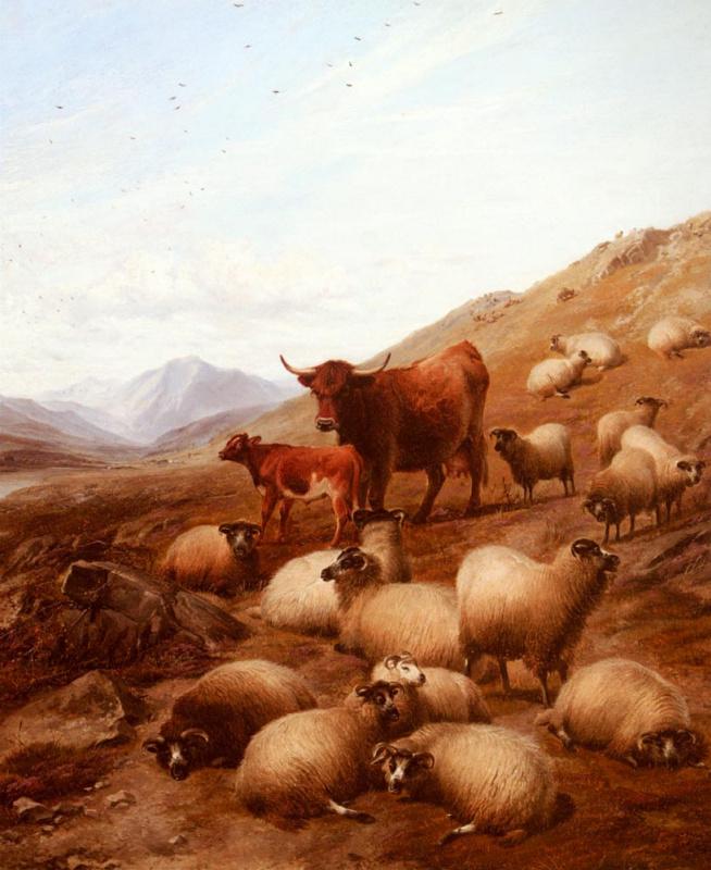 Томас Сидней Купер. В высокогорье