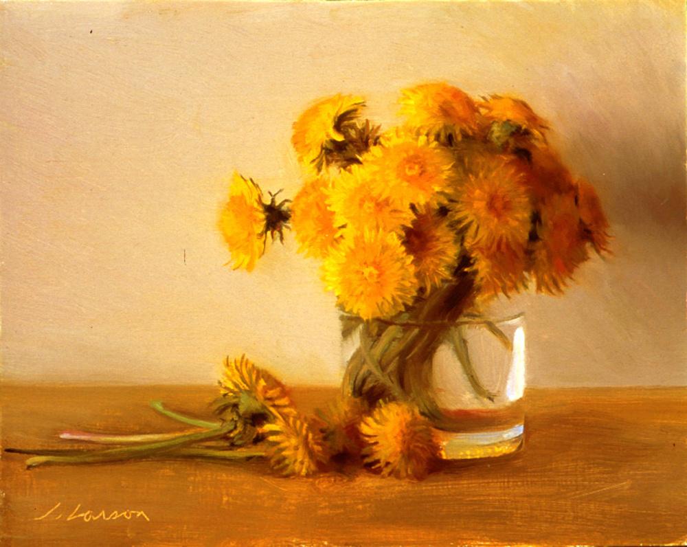 Джеффри Ларсон. Желтые цветы
