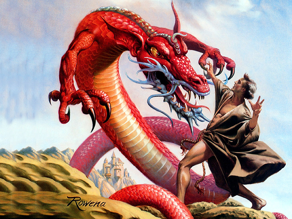 Rowena Morrill. Fantasy 51