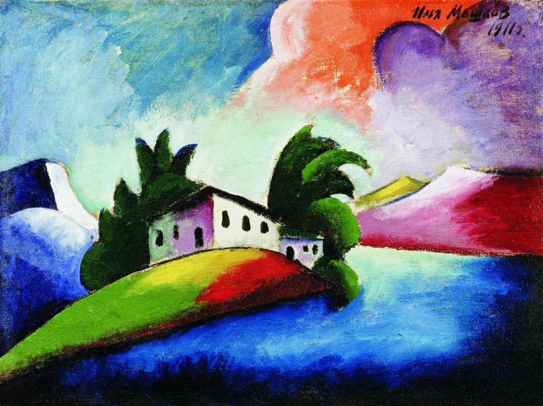 Ilya Ivanovich Mashkov. Landscape
