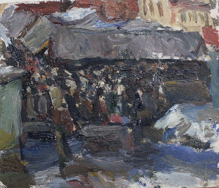 Orest Georgievich Betekhtin. Moscow