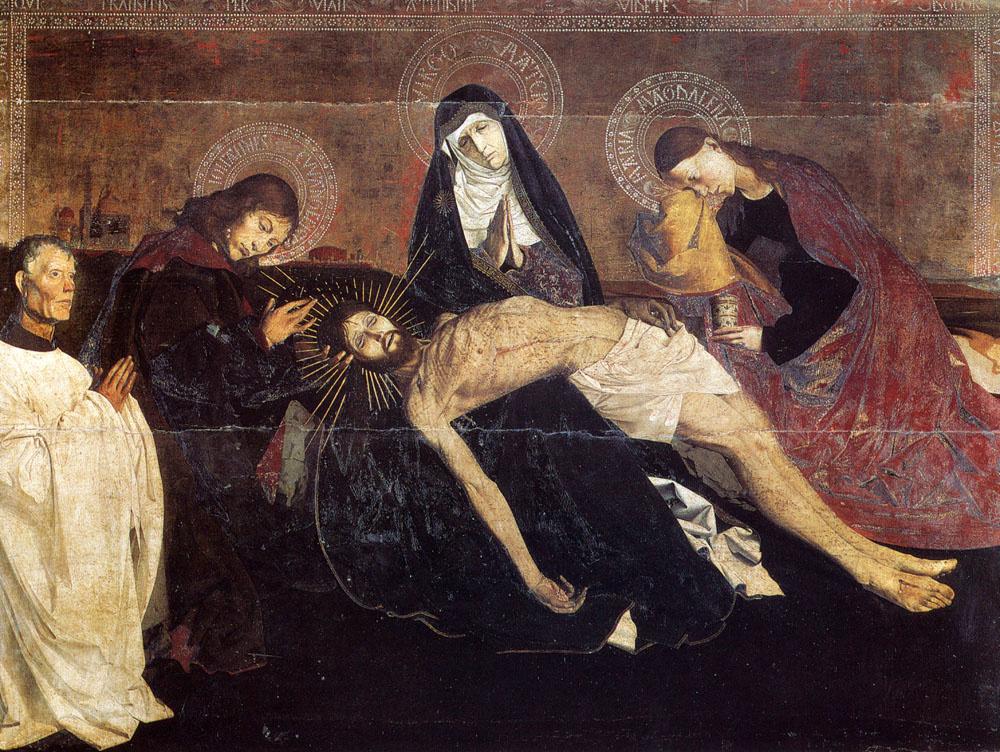 Angerran Sharonton. Pieta Of Villeneuve Les Avignon