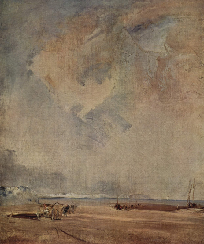 Richard Parkes Bonington. Sea coast in Normandy