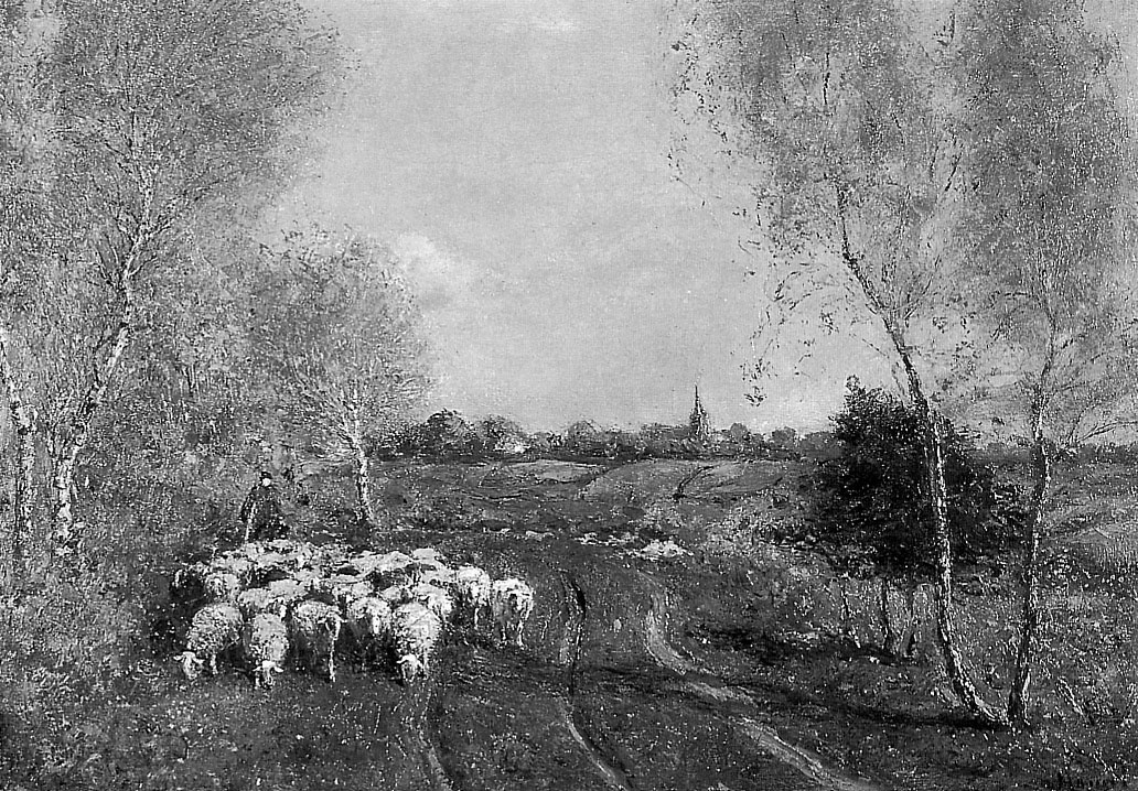 Виллем Амель. Пейзаж