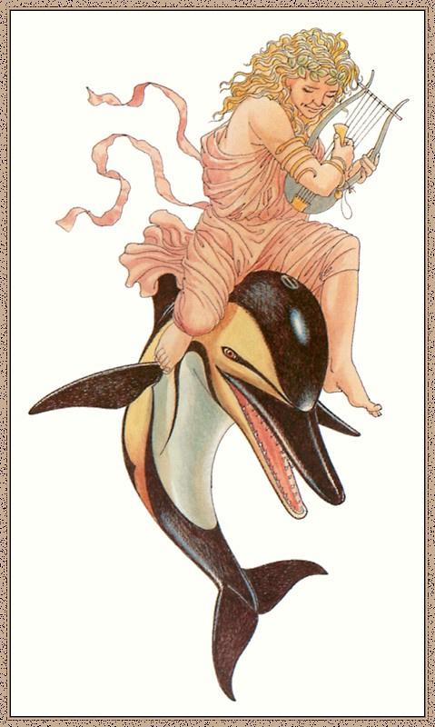 Картинки ориона на дельфине